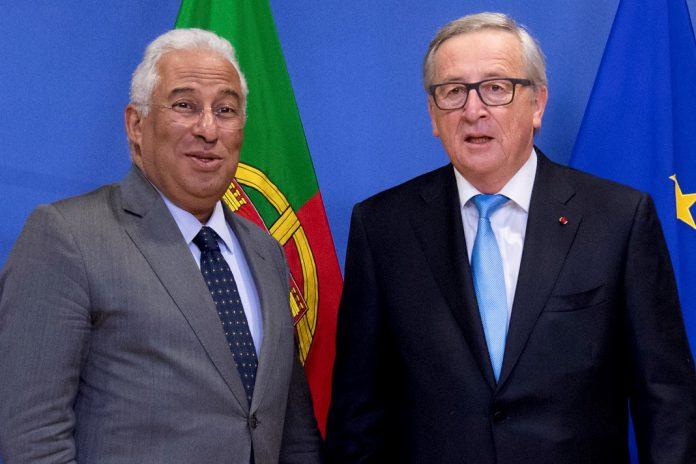 Reformas do ensino profissional tem apoio da União Europeia, Jean-Claude Juncker, Antonio Costa.
