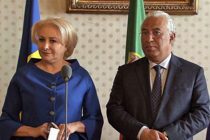 Primeira-ministra da Roménia em Portugal para aumentar cooperação bilateral