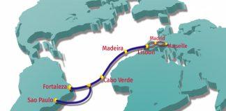 Novo cabo submarino entre Brasil e Portugal reforça comunicações Internet