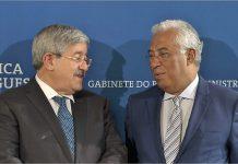 Ahmed Ouyahia, Primeiro-ministro argelino e António Costa, Primeiro-ministro português, na quinta reunião de alto nível entre Portugal e a Argélia.