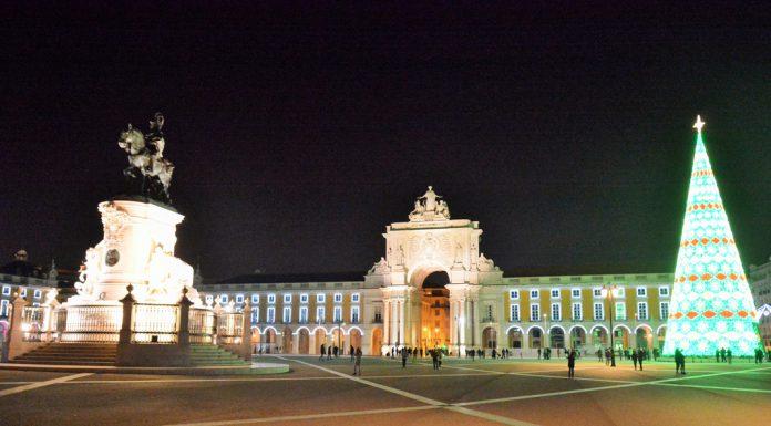 Luzes de Natal em Lisboa, um passeio pela baixa pombalina