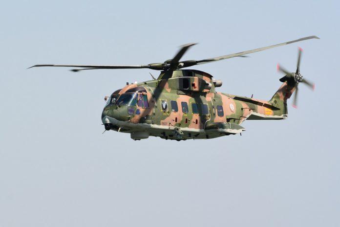 Helicóptero EH-101 da Força Aérea Portuguesa