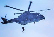 Força Aérea faz resgate médico de tripulante do navio SEAVEN JOY