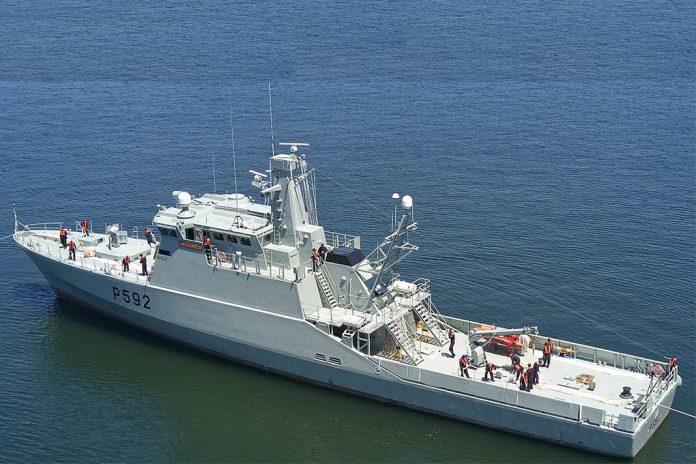 Marinha tem novo navio patrulha costeiro, o 'Mondego'