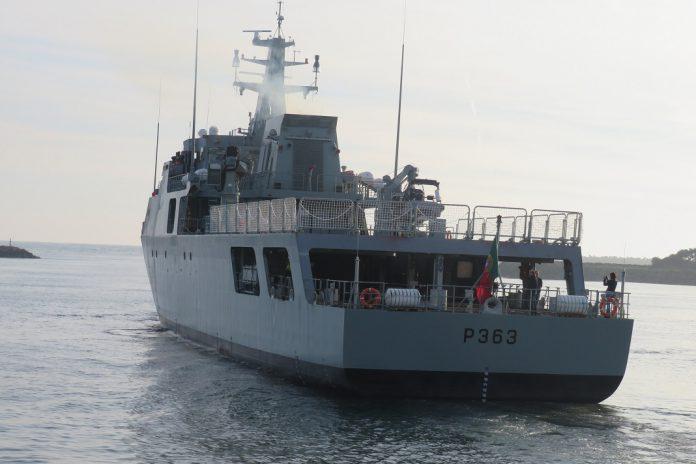 """Navio patrulha oceânico """"Setúbal"""" fez provas de mar com sucesso"""