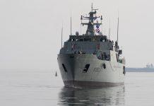 """Navio patrulha oceânico """"Sines"""" vai pela primeira vez em missão para os Açores"""
