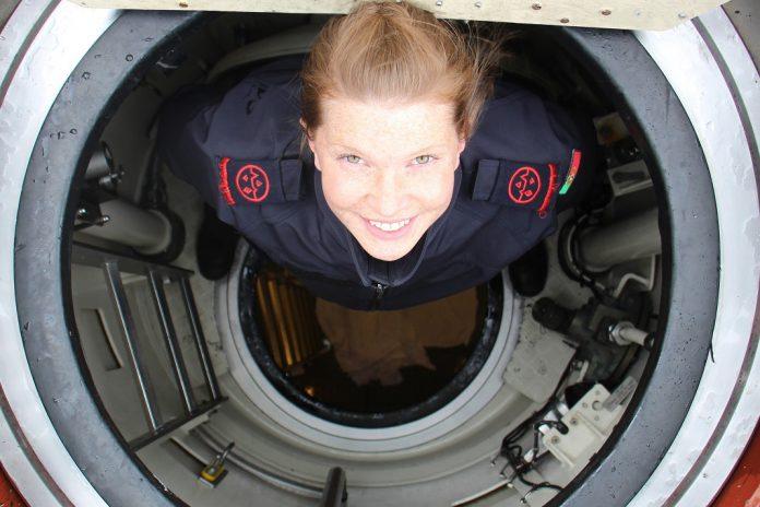Noemie Freire é a primeira submarinista da Marinha Portuguesa