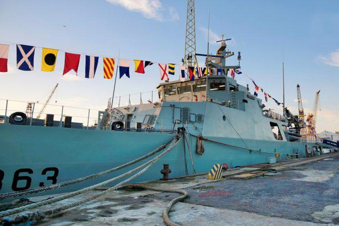 NRP Setúbal: Novo navio da Marinha recebe batismo