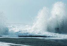 Previsão de mar agitado e ondulação forte até ao fim-de-semana