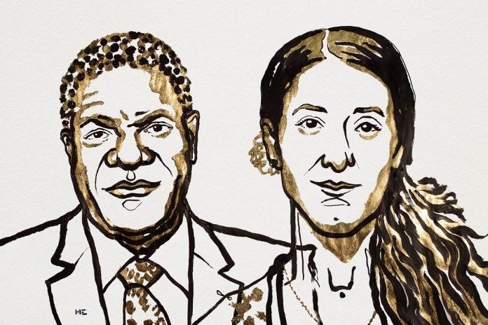 Prémio Nobel da Paz de 2018 atribuído a Denis Mukwege e Nadia Murad