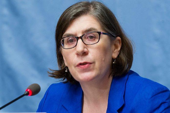 Liz Throssell, porta-voz do Alto Comissariado das Nações Unidas para os Direitos Humanos