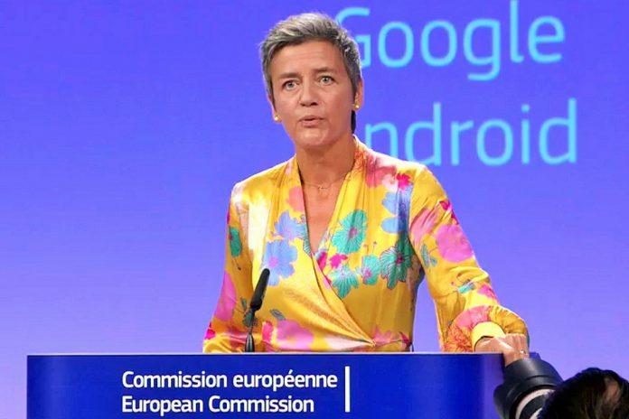 Google multada pela Comissão Europeia em 4,34 mil milhões de euros