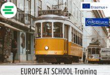 """Curso de Formação """"Europe at School"""" em Lisboa"""