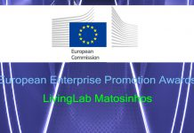 LivingLab Matosinhos na fase final dos European Enterprise Promotion Awards