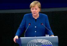 Exército Europeu defendido por Angela Merkel no Parlamento Europeu