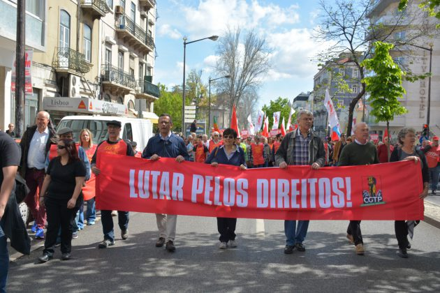 Desfile do 1º de Maio, em Lisboa