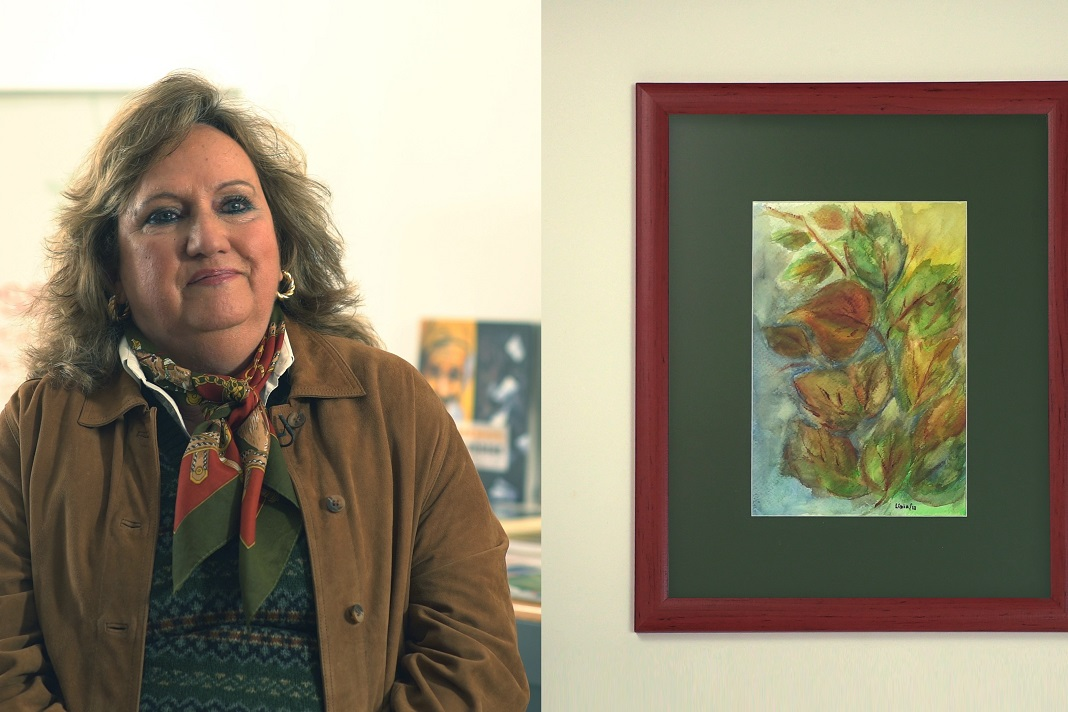 Exposição de arte de doentes de Parkinson, Lídia Bragança