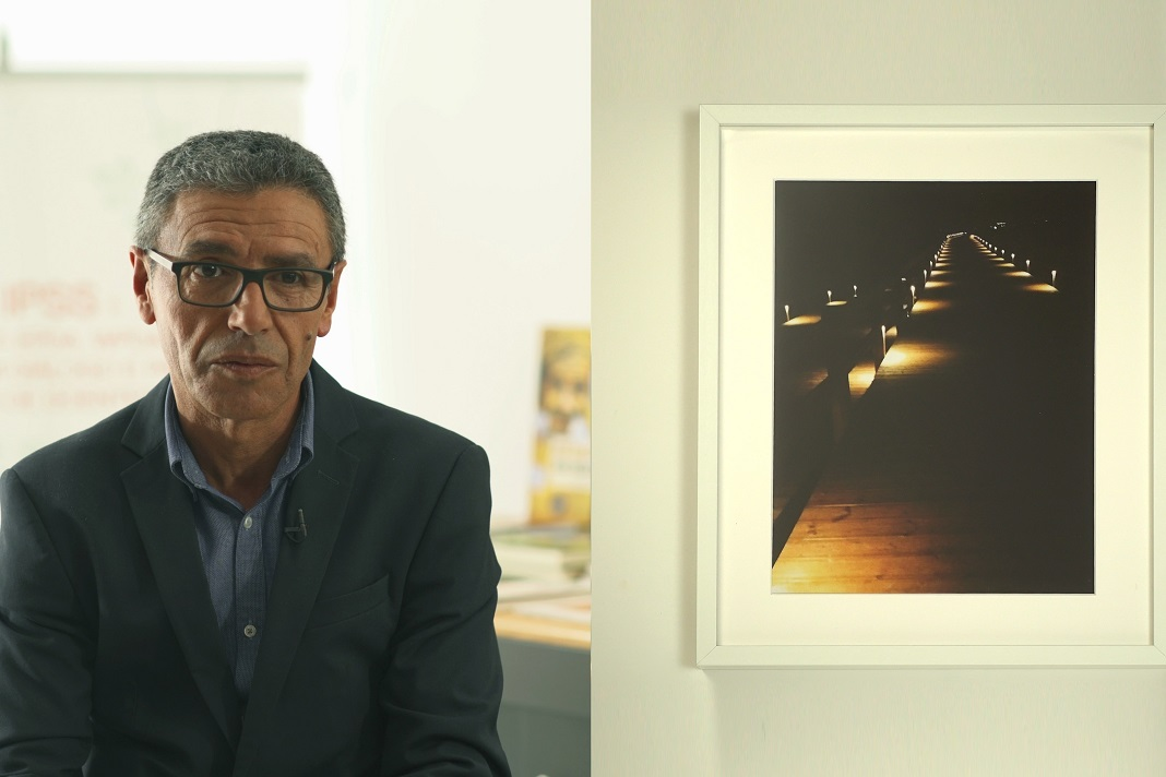 Exposição de arte de doentes de Parkinson, António Rui Camilo
