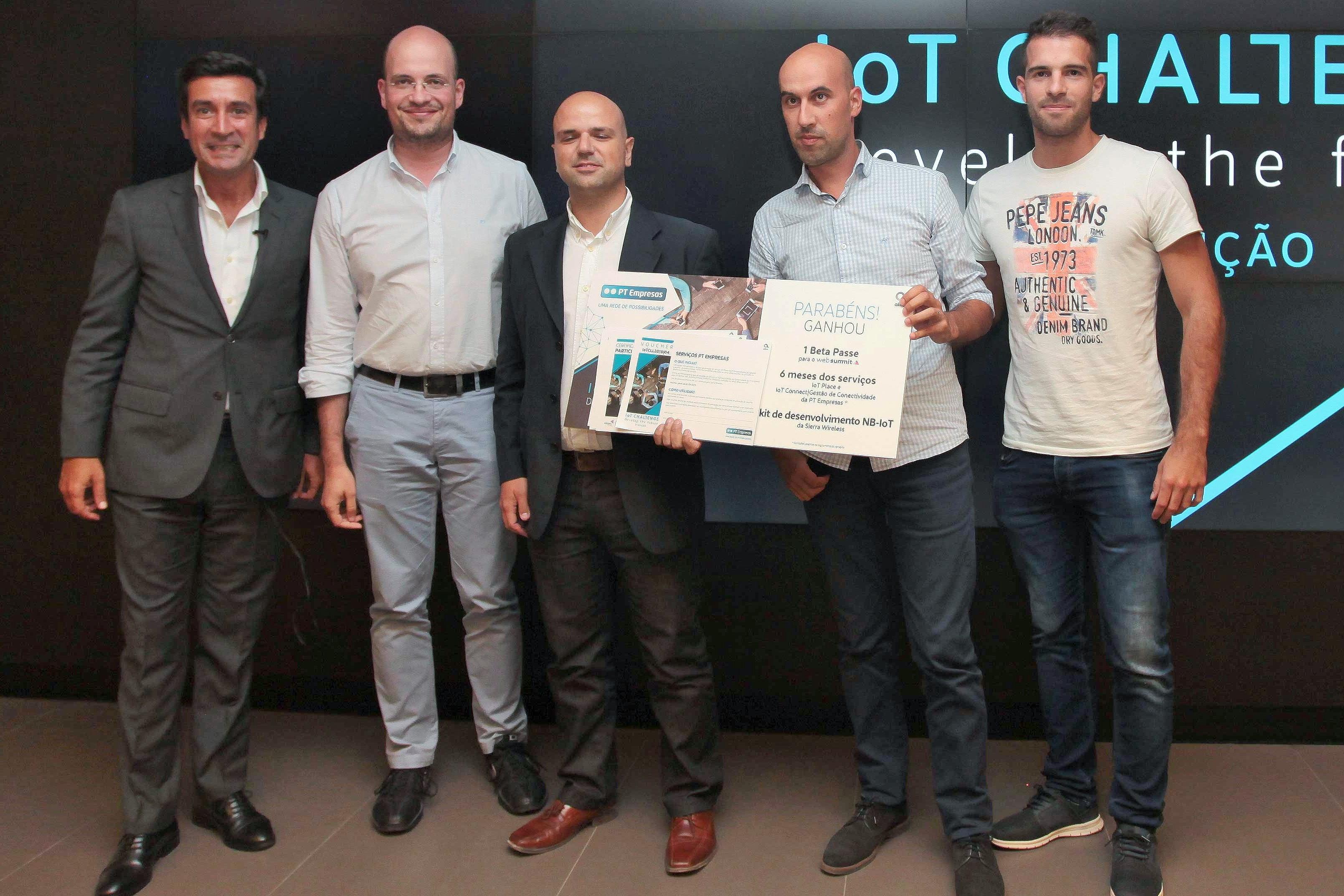 Projetos vencedores do IoT Challenge 2018