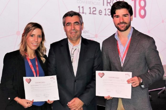 Marta Tavares da Silva e Manuel de Oliveira Santos distinguidos com Prémio Jovens Cardiologistas de Intervenção