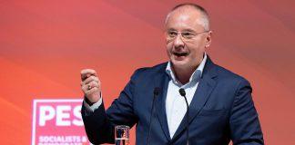 Sergei Stanishev reeleito presidente do Partido Socialista Europeu