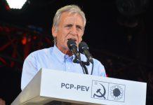 """Jerónimo de Sousa: as próximas eleições são """"uma batalha decisiva"""""""