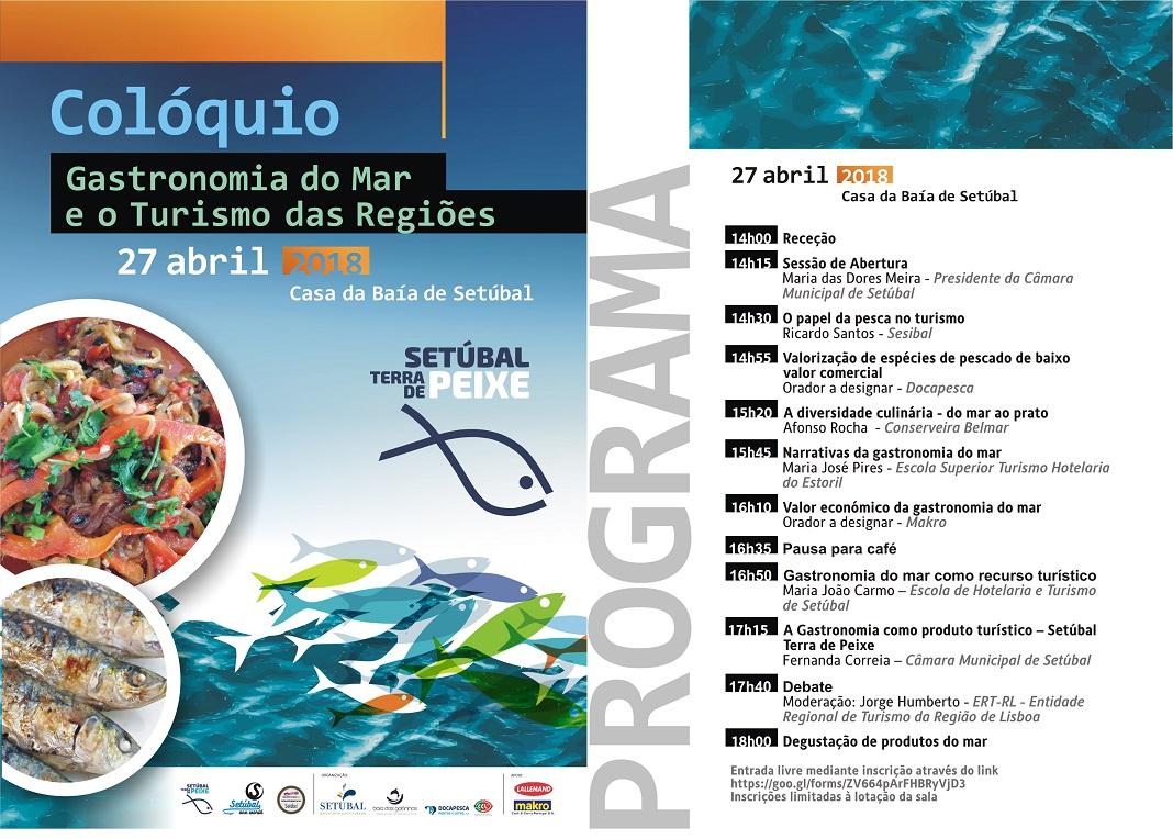 Programa: Gastronomia do Mar e o Turismo das Regiões