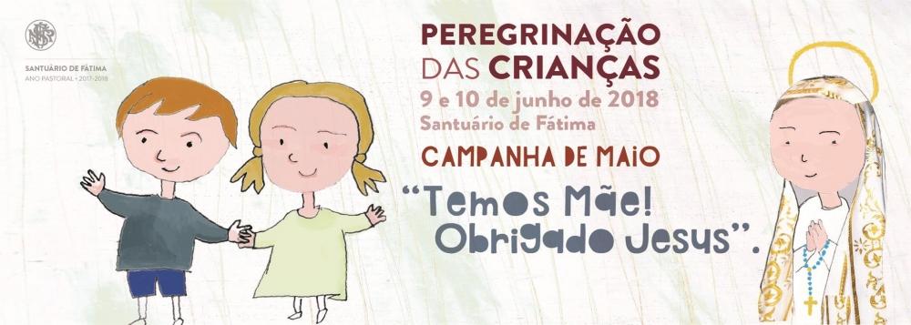 Peregrinação anual das Crianças a Fátima decorre de 9 a 10 de junho