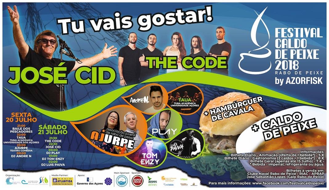 Festival Caldo de Peixe e debate sobre Mar, Gastronomia e Inovação, nos Açores