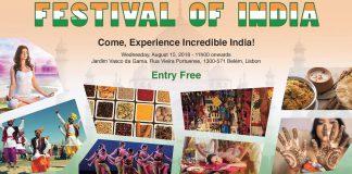 Festival da Índia, em Belém, Lisboa