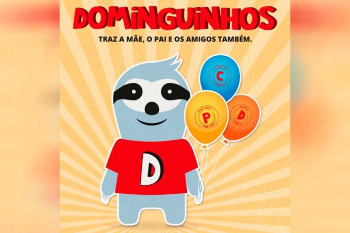 """""""Dominguinhos"""" no MAR Shopping Matosinhos com ateliê de artes plásticas"""