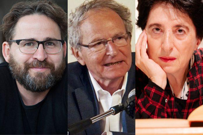 Wolfram Eilenberger, Jean-François Courtine e Maria Filomena Molder