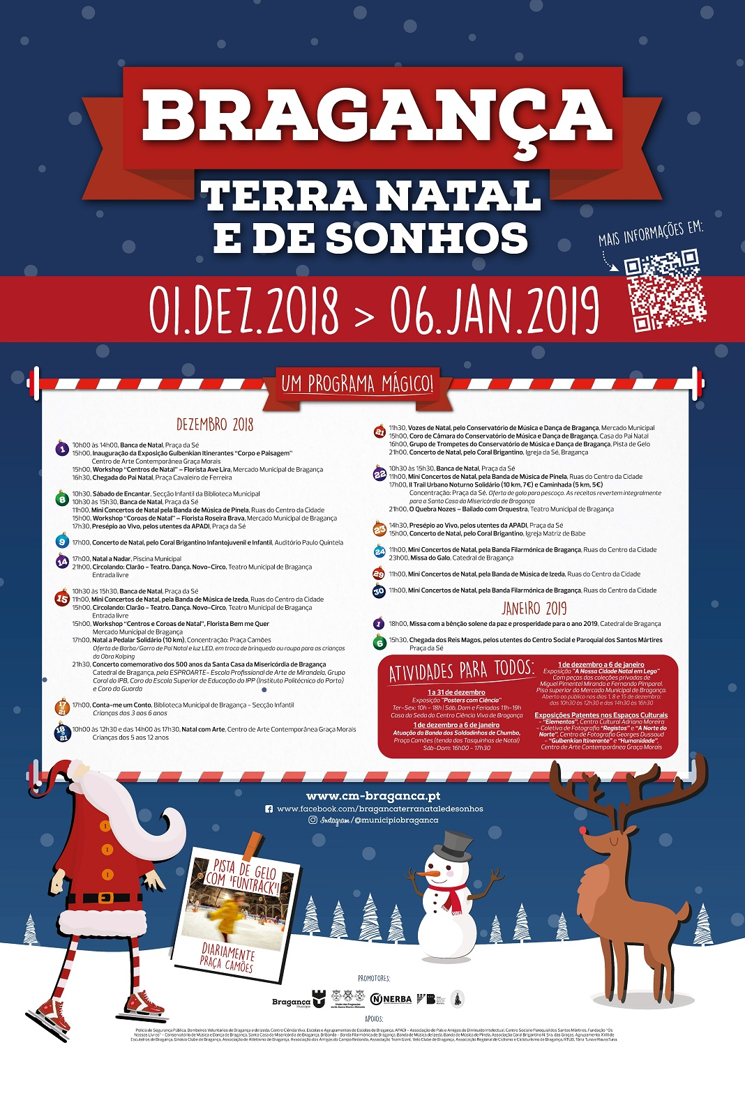 Natal em Bragança cheio de atividades e de sonhos