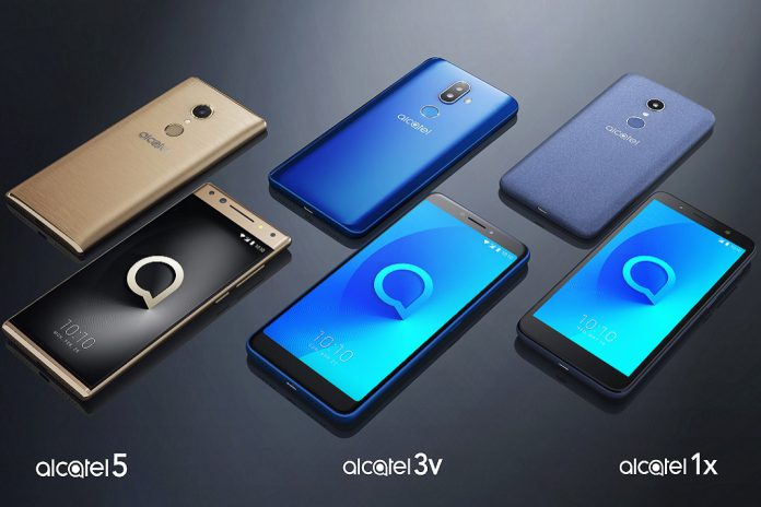 Smartphones 2018 Gama ALCATEL