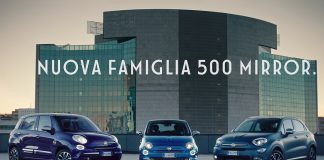 Fiat 500 Mirror vai no 'ar'