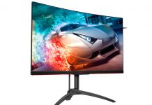AOC apresenta novo monitor premium de gaming