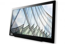 Novo monitor portátil USB-C da AOC para a mobilidade