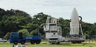 Satélite Aeolus da ESA vai medir os ventos
