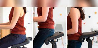 Cadeira de escritório com benefícios cardiovasculares