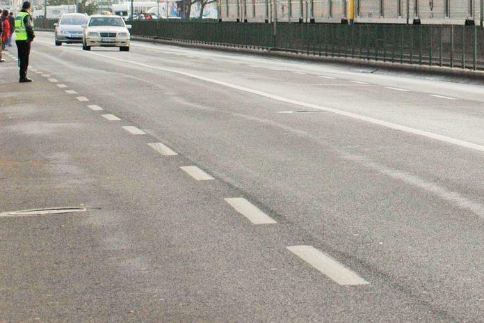 Trânsito condicionamento na Avenida Brasília de 18 e 22 de junho