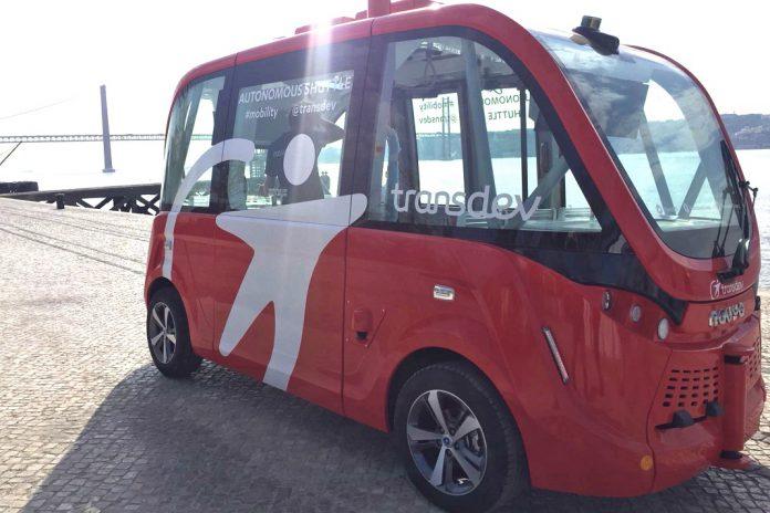 Autocarro autónomo da Transdev apresentado em Portugal