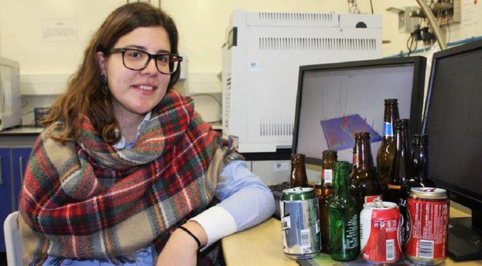 Investigadora Cátia Martins, autora do BeerAMA, Universidade de Aveiro