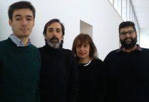 Investigadores do projeto DENSER da UC: Filipe Assunção, Penousal Machado, Bernardete Ribeiro e Nuno Lourenço (esquerda para a direita)