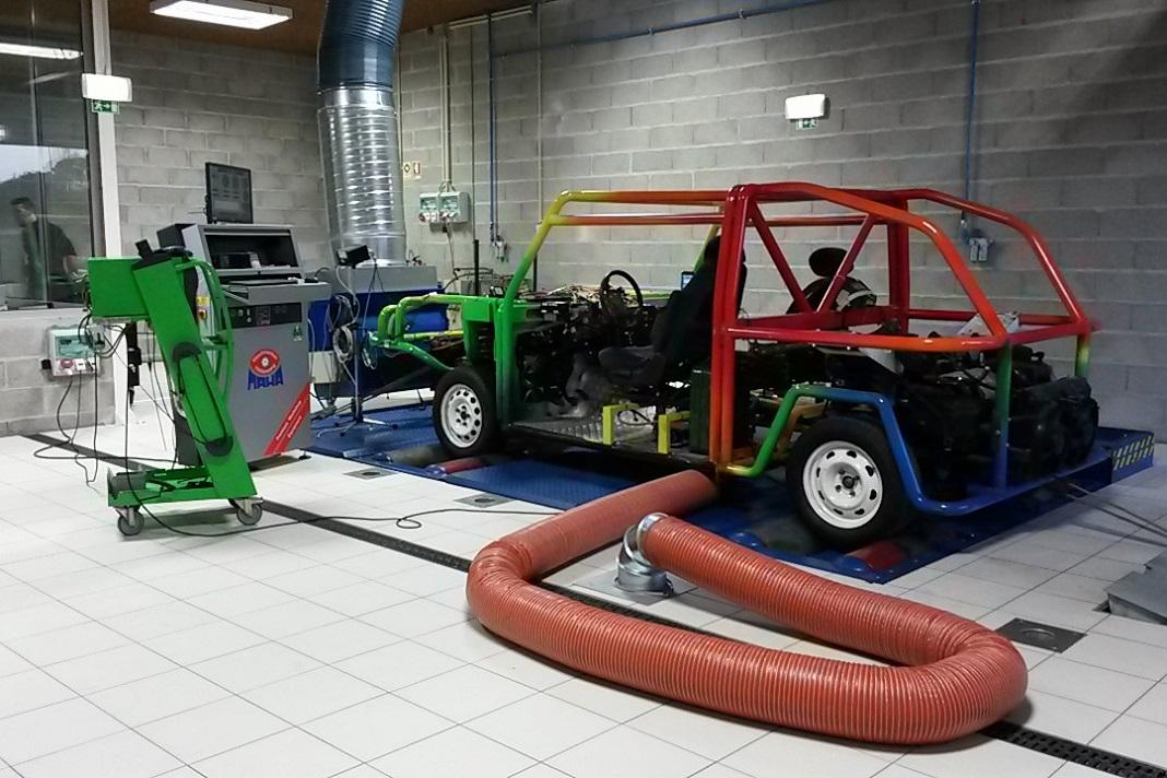 Laboratório de engenharia automóvel