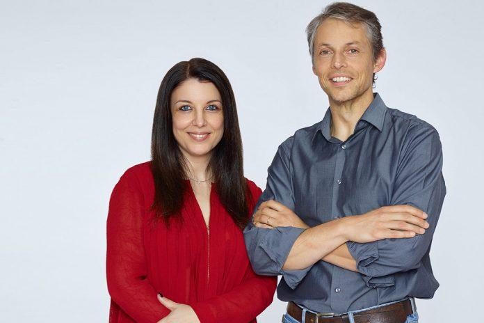Paula Ferreira e Marcos Mariz, investigadores da Faculdade de Ciências e Tecnologia da Universidade de Coimbra.