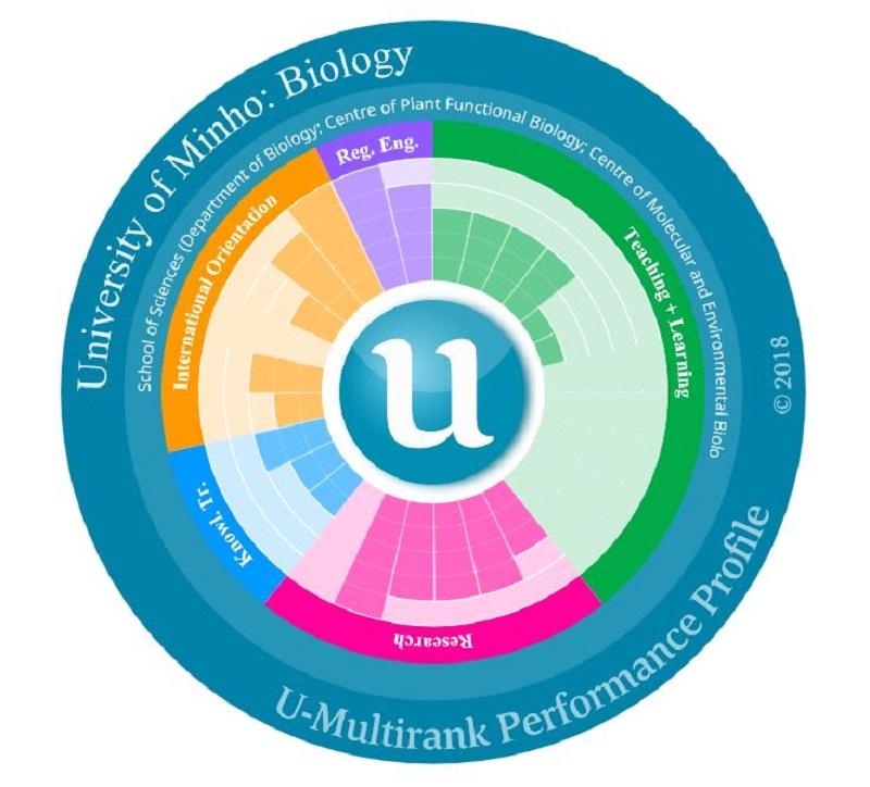 Universidade do Minho sobe na classificação U-Multirank 2018