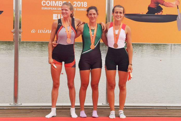 Joana Branco conquista medalha de ouro nos Jogos Europeus Universitários