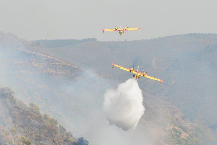 Alerta especial de nível vermelho de risco de incêndios