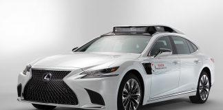 Toyota P4 de condução autónoma apresentado na CES, EUA
