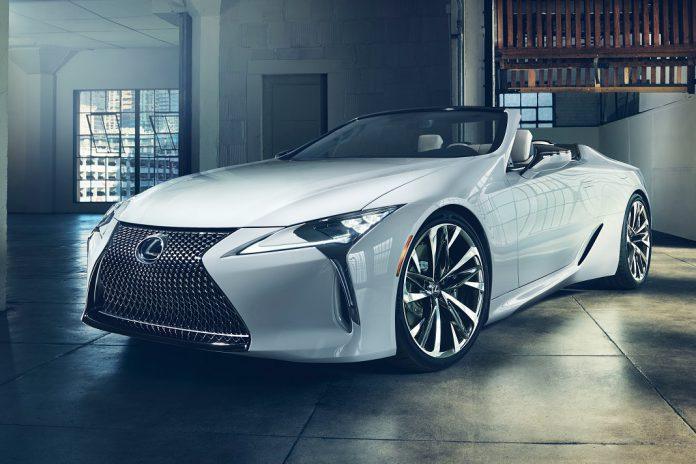 Lexus apresenta LC Convertible concept em Detroit
